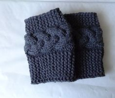 Knit Boot Socks Women's Knit Accessory Boot Accessory by Ifonka, $25.00