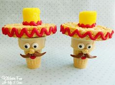 Kitchen Fun With My 3 Sons: Cinco de Mayo Cupcake Cones