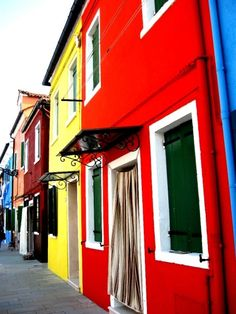 Paint the Town. Burano, Italy.