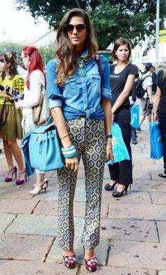 Street Style in Milan – Sept. 2012 - http://olschis-world.de/  #StreetStyle #Milan