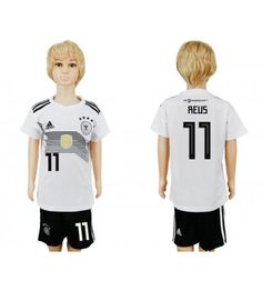 Tyskland Mario Gotze 19 Replika Babytøj Hjemmebanetrøje til Børn VM 2018 Toni Kroos, Soccer Online, Julian Draxler, Jersey Uniform, Soccer Cleats, Soccer Jerseys, Mario, All Team, Kids Soccer