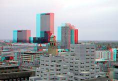 https://flic.kr/p/yicDXo   View from Laurenstoren Rotterdam 3D   Uitzicht…