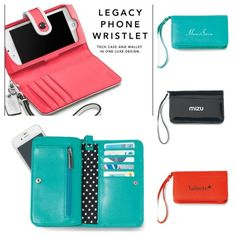 Trend Spotting! Lexi Wristlet Wallet from Gemline fits right in with even high-end designers like Coach!