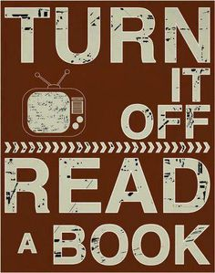 Turn it Off and Read a Book...{Join us for Screen Free Week April 20 to May 5}
