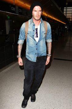 David Beckham - Casual Jeans Look