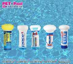 Keep your pool crystal clear with our assorted range of chlorine pool floaters. Kills harmful bacteria, burns up dead organic material and sanitizes your pool water - keeping your family safe this summer. For a large variety of pool care products, and much more, visit your nearest #PetPoolWarehouse branch. #PoolCleaners #SummerIsHere