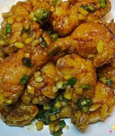 심하게 고소하고 특히 부드러운 밑반찬 ' 진미채볶음 만드는 법' Chicken Wings, Meat, Food, Eten, Meals, Diet