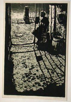 """Новосельская Нина Николаевна (1926-1987) Серия """"Ленинград в блокаде"""""""