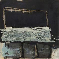 Hildur Ines - Repetition 100 x 100 cm mixte media on canvas 2014 Contemporary Abstract Art, Modern Art, Art Blanc, Pop Art, Atelier D Art, Collage Techniques, Art Prompts, Painting Workshop, Encaustic Art
