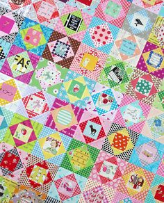 Red Pepper Quilts: Economy Block Quilt in Progress & Tutorial
