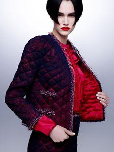 ♡CHANEL Haute Couture Fall-Winter 2015-2016 (Marie Claire magazine) #CerclePrive L'héritage de Coco Chanel #espritdegabrielle