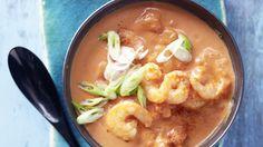 Tomaten Kokos suppe