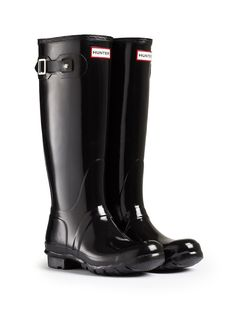 Gloss Rain Boots | Original Tall Gloss Rain Boots | Hunter Boot http://usa.hunter-boot.com/product/original-tall-gloss-rain-boots