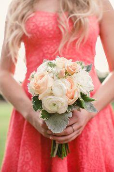 Shabby chic bridesmaid bouquet