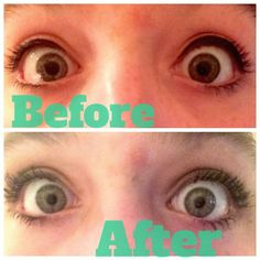 Youthful Lashes-- my 15 year old niece's eyelashes before and after using 3D Fiber Lash. Amazing! Order here: https://www.youniqueproducts.com/MicheleDavisrap/