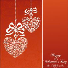 Valentines Day Greeting Card with Composite Hearts 780x780 Worlds Most Lovely Valentine Cards, Wallpapers