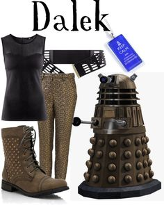 Dalek the black sheep of the family can wear this at a doctor who wedding