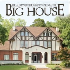 Visit The Allman Brothers Band Museum at The Big House in Macon, #Georgia!