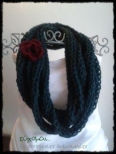 handmade scarf necklace