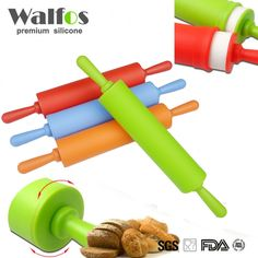 Walfos 30 cm Non stick fondant rolling pin for kids Fondant Cake Dough Roller Decorating Cake Roller crafts Baking cooking Tool-in Baking & Pastry Tools from Home & Garden on Aliexpress.com | Alibaba Group