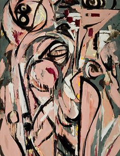 "Lee Krasner Three in 2- an interesting passage in a Wall Street Journal review of Gail Levin's biography on Krasner: ""'People treated me as Pollock's wife, not as a painter,' she said in a 1981 interview. 'Someone like (Clement) Greenberg, because I didn't hand over to him the Pollock estate, did his job well to make sure I didn't come through... """