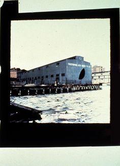 Gordon Matta-Clark Day's End (Pier 52) (Exterior with Ice) 1975
