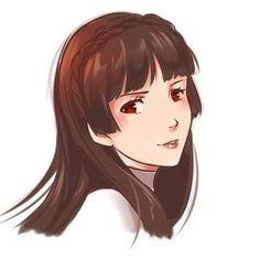That's a good look for her. Persona 5 Memes, Persona 5 Joker, Video Game Characters, Comic Book Characters, Persona 5 Makoto, Makoto Niijima, Anime Toon, Shin Megami Tensei Persona, Video Games Girls
