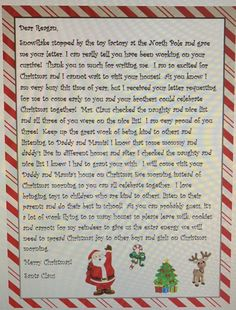 The truth about santa how and when to tell your kids momtrusted letter from santa to come early divorcedparents spiritdancerdesigns Gallery