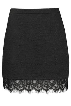Textured Lace Hem Pelmet Skirt - Topshop.