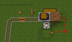 I have used this minecart to represent the golgi body and to show how since the golgi body packadge and store proteins and waits to be shipped a minecart does the same it hold items and waits to be shipped from place to place.