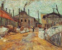 Vincent van Gogh - Factory at Asnieres