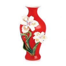 Franz Porcelain Pure Beauty Iris Vase