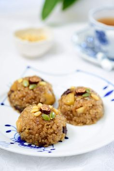 Yaksik (Sweet Rice with Dried Fruits and Nuts) Asian Recipes, Healthy Recipes, Potluck Recipes, Meal Recipes, Drink Recipes, Calorie Dense Foods, Rice Cakes, Cheat Meal