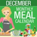 December Meal Calendar: Month's Worth of Skinny Meals
