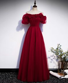 Burgundy Evening Dress, Evening Dresses, Cute Dresses, Prom Dresses, Formal Dresses, Burgundy Bridesmaid Dresses, Dress For You, Ball Gowns, Outfits