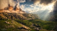 Before The Storm - After months of being very inactive on this place I want to share a memory of the Dolomites with you. I took this shot as a big panoramic image only minutes before I found myself in a very bad mountain thunderstorm. So for me, this shot represents everything that we love and fear about being out there in the mountains. As a reminder, a large print of this image already hangs on my wall. To see more of my work, feel free to check out my <a…
