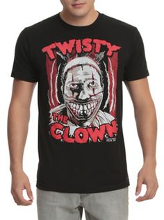 American Horror Story: Freak Show Twisty The Clown T-Shirt