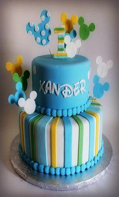 Torta di compleanno inviata da Ela alla nostra App per smartphone. Clicca sul link e scarica anche tu la nostra App e inviaci le foto delle tue torte e le tue ricette.