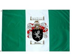 Stokes Coat of Arms / Family Crest Flag