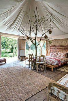 Yurt for Rent || Bohemian/Boho/Glamping/Luxury Camping/Design/Travel