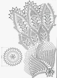 Crochet-doily-pattern+häkeln-Deckchen++ld9+(2).JPG 1.161×1.600 píxeles