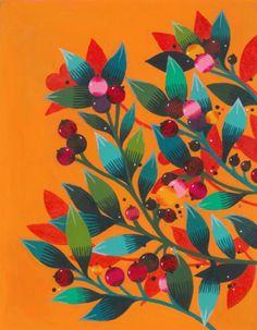 MAYA HANISCH | ARTWORK & BOOKS Floral Illustrations, Illustration Art, Scandinavian Paintings, Tinta Epson, Animal Sketches, Cute Wallpaper Backgrounds, Baby Art, Elements Of Art, Art Club