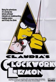The Simpsons Parody Movie Posters Remix Iconic Pictures