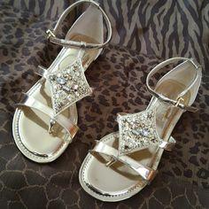 Gianni Binni Gold Sandals