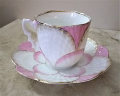 Lotus flower tea cup  lotus tea cup   pink lotus by SumertaDesigns