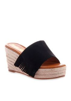 Madeline Women's Dashed Sandals - Black - 8M