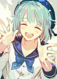 Hajime Shino, by Cute Anime Boy, Kawaii Anime Girl, Anime Art Girl, Anime Guys, Star Character, Star Wallpaper, Star Art, Ensemble Stars, Best Artist