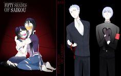 Yandere-chan et sa mère (Ryoba Aishi) attaché et de l'autre coté il y à le père de Mégami(je pense)et Mégami (version homme)...