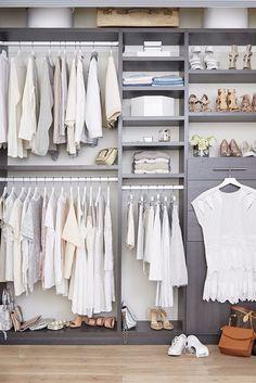 53 Trendy walk in closet diy ikea clothes Ikea Closet Hack, Ikea Closet Organizer, Small Bedroom Organization, Closet Hacks, Kid Closet, Closet Bedroom, Closet Organization, Home Bedroom, Closet Ideas