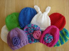 Knitted New Born Prem Hats Patterns Fiber Flux...Adventures in Stitching: It's NICU baby knitting time again!